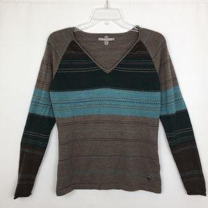 Smartwool Sulawesi Stripe V-Neck Pullover Sweater